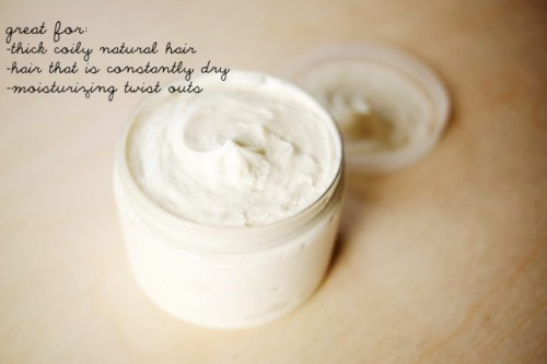 whipped shea butter moisturizer (via sparklecollective)