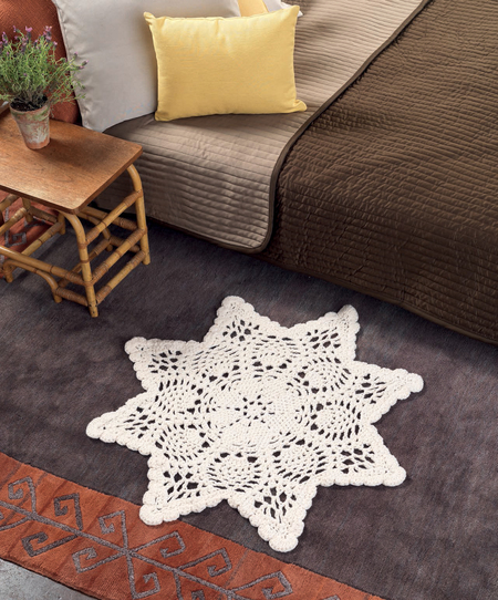 chunky doily rug (via https:)