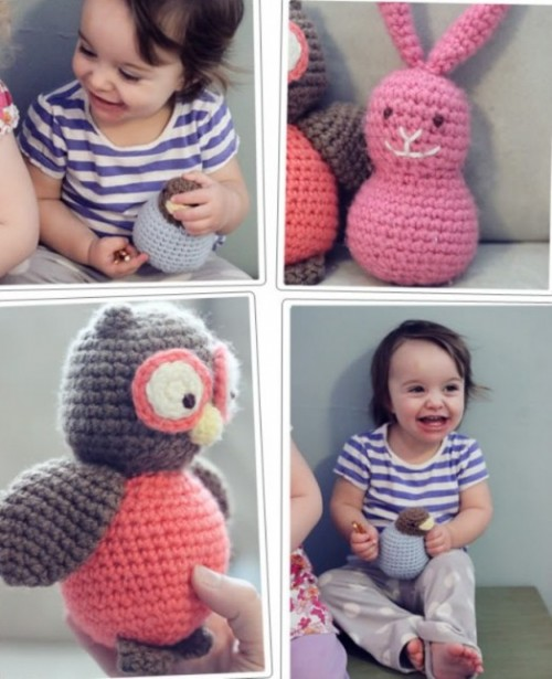 crochet toys for kids (via kidsomania)