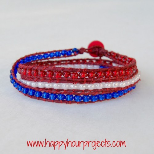 May The 4th Be With You Necklace: 11 Awesome DIY 4th July Patriotic Jewelry Ideas