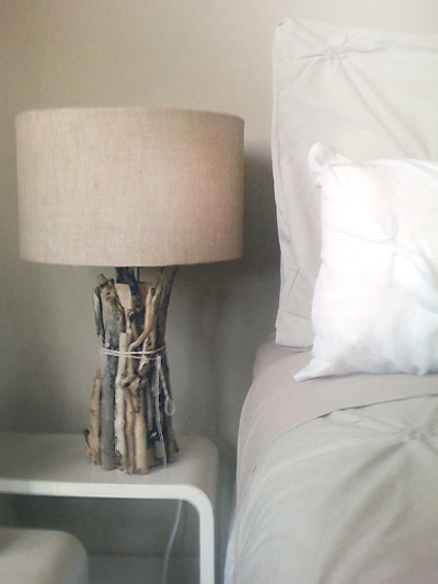 9 awesome diy beach inspired lamps shelterness driftwood nightstand mozeypictures Images
