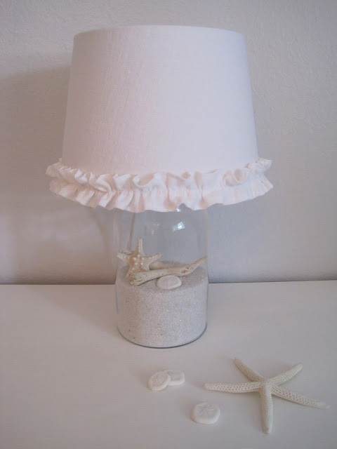 beach cottage lamp