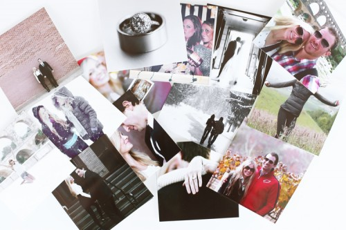 Awesome DIY Black And White Instagram Calendar