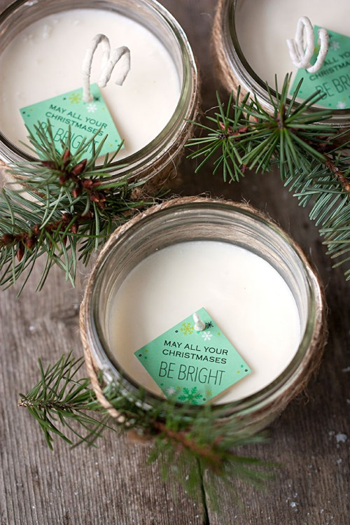 8 Awesome DIY Candles And Candleholders For Winter