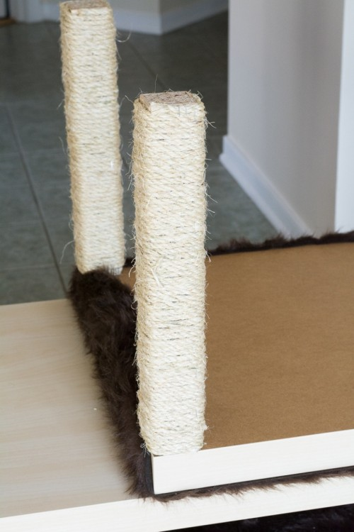 Awesome DIY Cat Condo From IKEA Tables