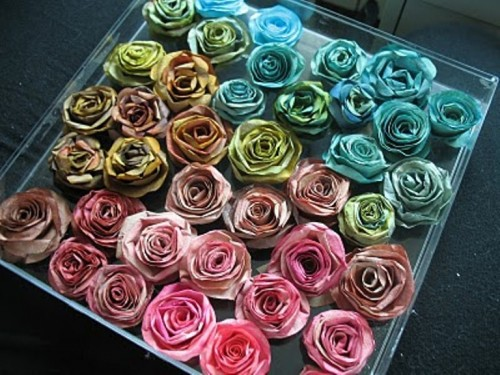 Awesome Diy Coffee Filter Roses For Valentine's Day