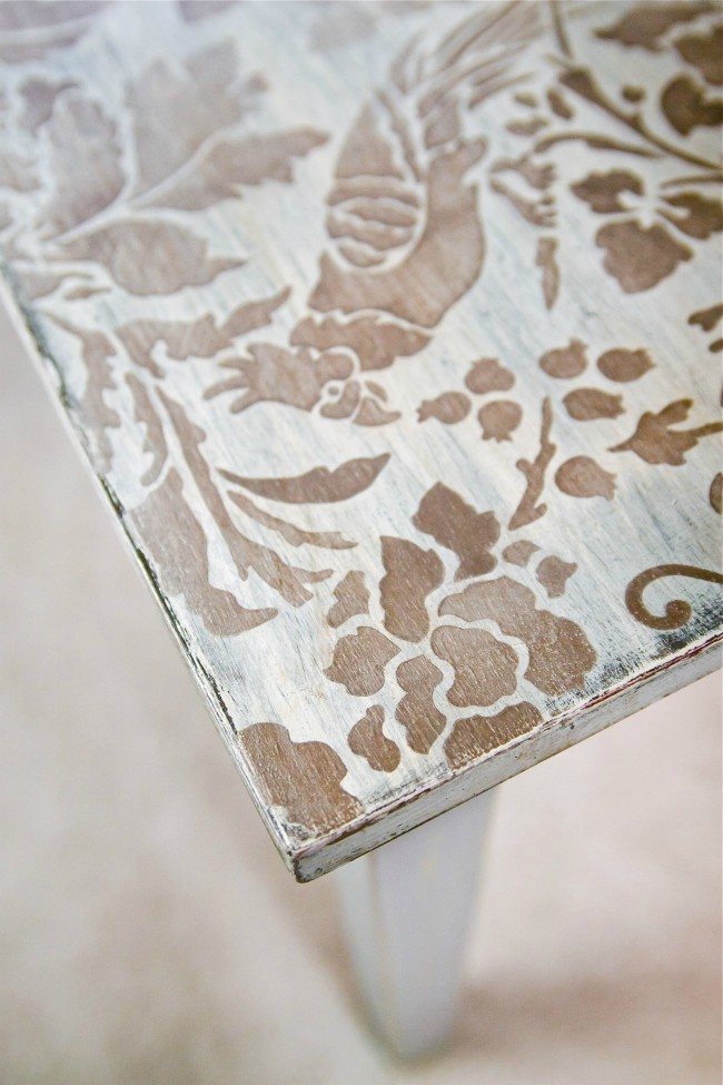 coffee table painting ideas