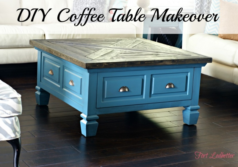 15 Awesome DIY Coffee Table MakeoversShelterness
