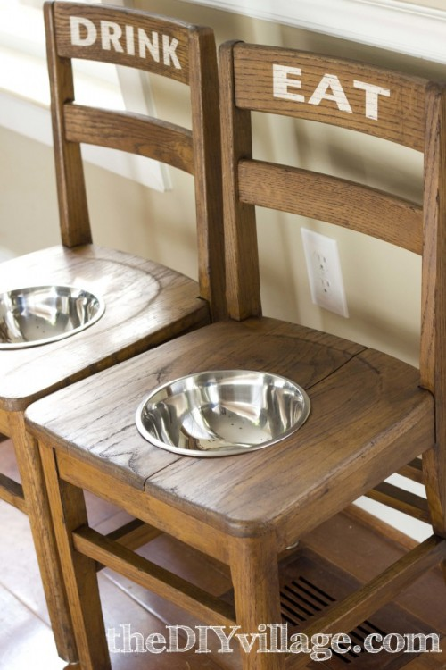 dog bowl chairs