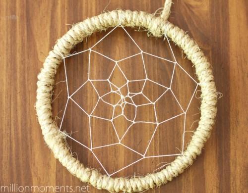sisal cord dreamcatcher