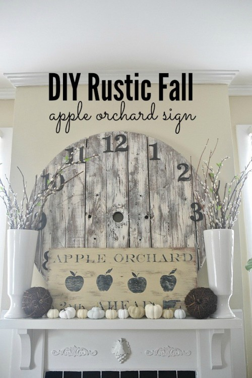 15 Awesome DIY Fall Signs For Indoors And Outdoors ...