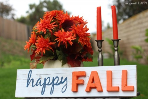 happy fall sign (via madewithhappy)