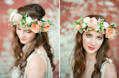 summer flower crown (via shelterness)