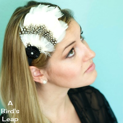 feather headband (via abirdsleap)