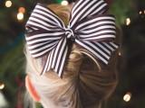 texas hair bow