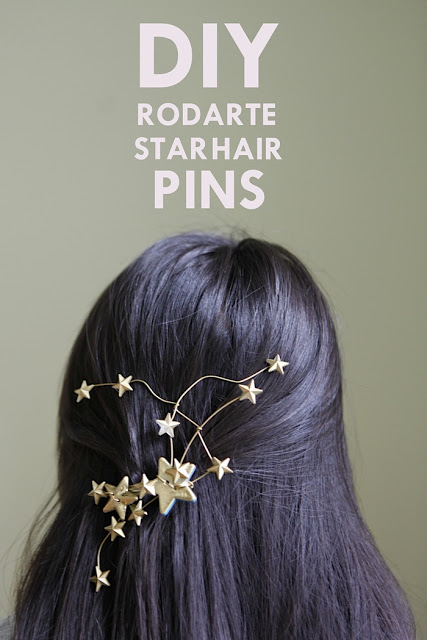 star hair pins (via hellowhimsy)