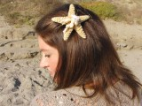 starfish hair pin