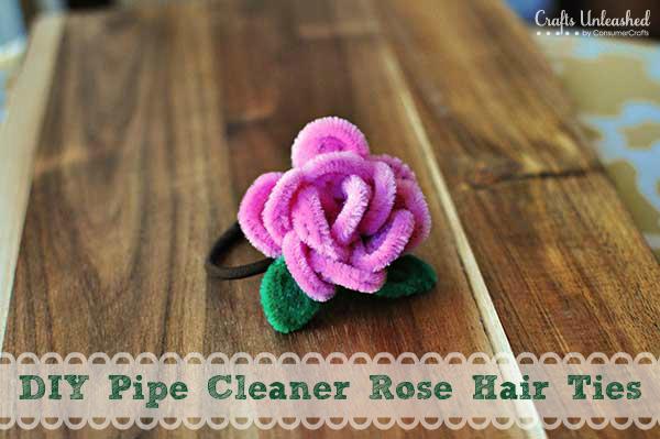 rose hair ties