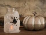Halloween spider lanterns