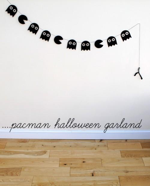 DIY Pacman Halloween (via minieco)