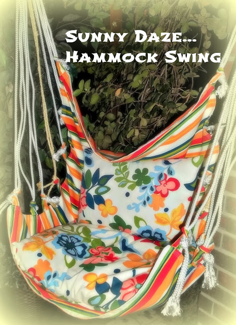 hammock swing (via soyouthinkyourecrafty)