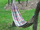 tie dyed hammock