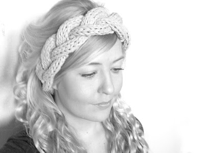 3 strand cable headband (via annenorgaard)