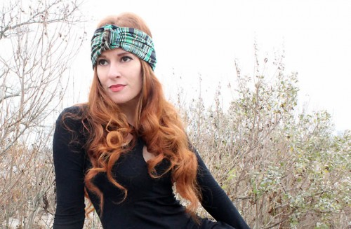 turban headband (via rockmosaic)