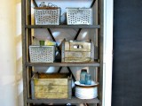 rolling industrial shelving
