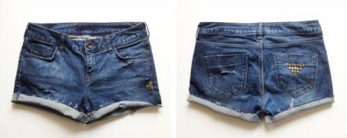 denim shorts (via planb)