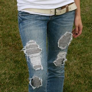 refashioned jeans (via laviediy)