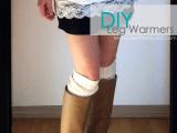 high boots leg warmers