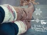shabby leg warmers