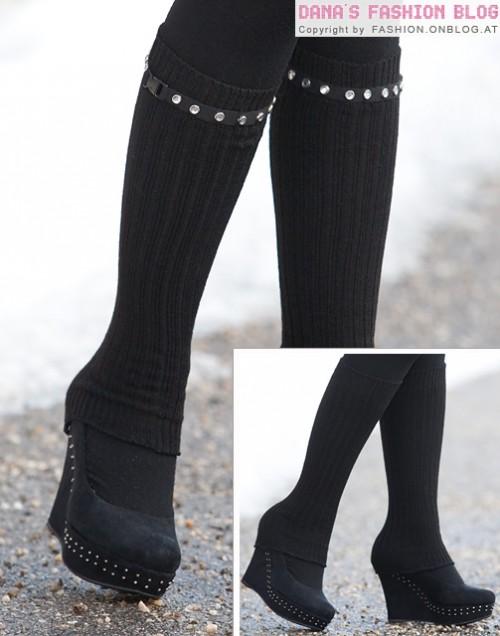 belt for leg warmer decor (via fashion)