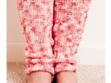 yoga leg warmers