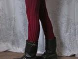 easy no sew long leg warmers