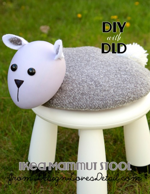 little lamb stool (via designlovesdetail)