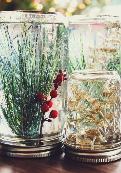 Awesome Diy Mason Jar Globes For Winter Decor