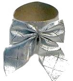 silver bows napkin rings (via craftbits)