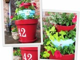 tiered outdoor planter
