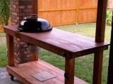 weber kettle table