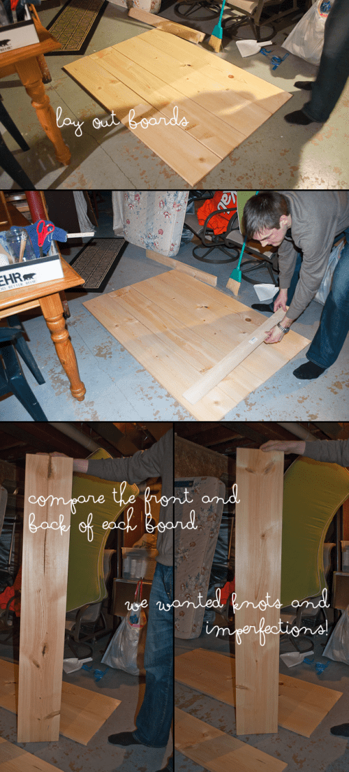 rustic wooden headboard (via createliveblog)