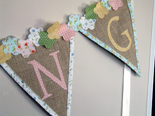 burlap and letters spring bunting (via ourcozynest)