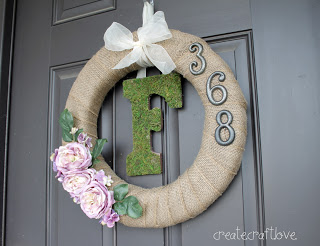 DIY pinspired rewired wreath (via createcraftlove)