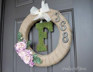 DIY pinspired rewired wreath