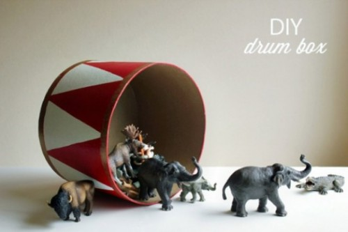 drum storage box (via kidsomania)