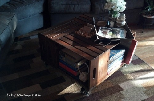 Awesome Diy Wine Crates Table