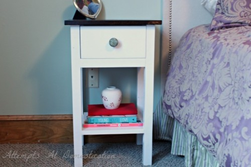 easy dyed nightstand (via attemptsatdomestication)