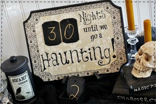 Halloween countdown (via themotherhuddle)