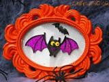 vampire bat decorative frame